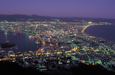 Night view from Mt.Hakodate