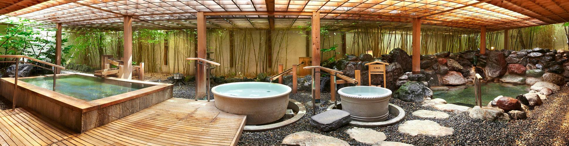 函館 湯の川温泉 花びしホテル 温泉のご案内